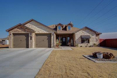 Lubbock Single Family Home Under Contract: 10407 Ironton Avenue