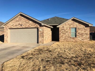 Lubbock Single Family Home For Sale: 7526 87th Street
