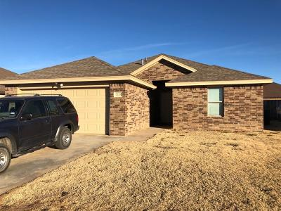 Lubbock Single Family Home For Sale: 7528 87th Street