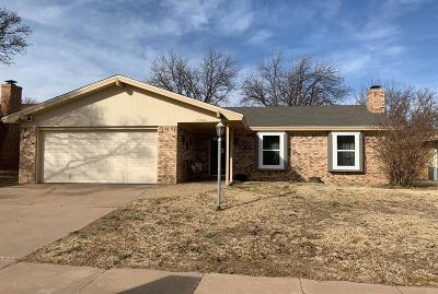 Lubbock Single Family Home For Sale: 5106 71st Street