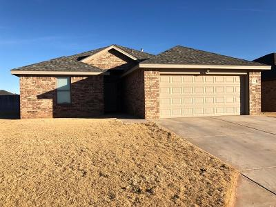Lubbock Single Family Home For Sale: 7532 87th Street