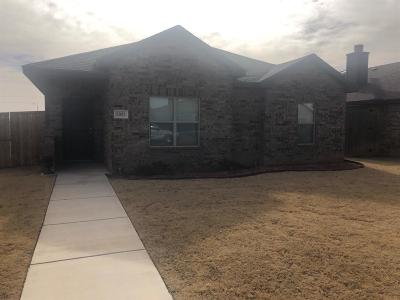 Lubbock Single Family Home For Sale: 5825 104th Street