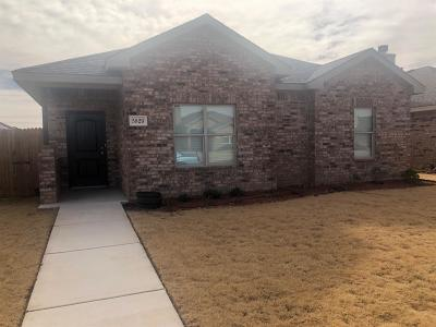 Lubbock Single Family Home For Sale: 5829 104th Street