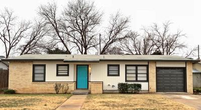 Lubbock Single Family Home For Sale: 4213 38th Street