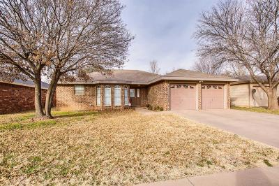 Lubbock Single Family Home For Sale: 2616 80th Street