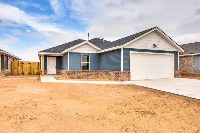 Lubbock Single Family Home Under Contract: 1708 100th Street