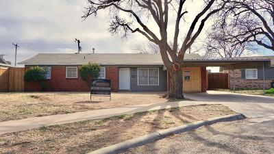 Single Family Home Under Contract: 5003 49th Street