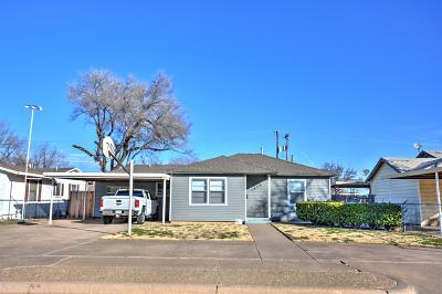 Lubbock County Single Family Home Under Contract: 1312 38th Street