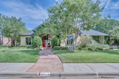 Lubbock Single Family Home For Sale: 3916 75th Street