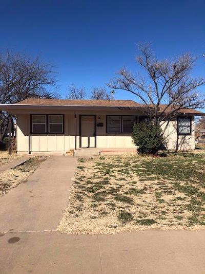 Lubbock County Single Family Home For Sale: 1602 60th Street