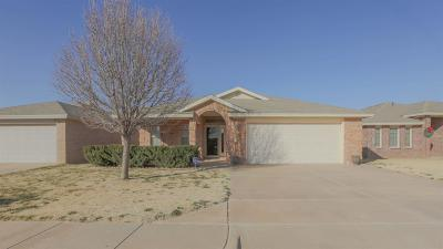 Lubbock TX Single Family Home Under Contract: $199,999