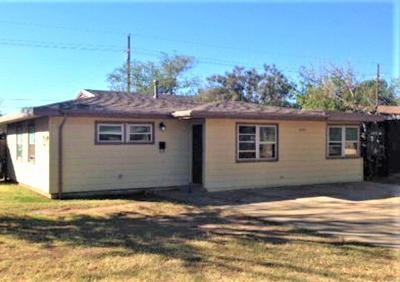 Single Family Home For Sale: 3607 31st Street