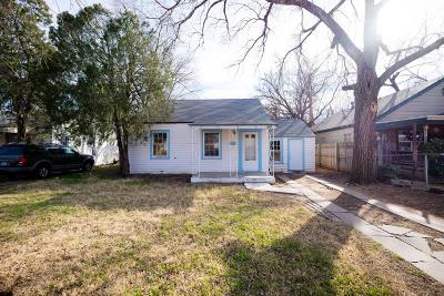Lubbock County Single Family Home For Sale: 1919 22nd Street