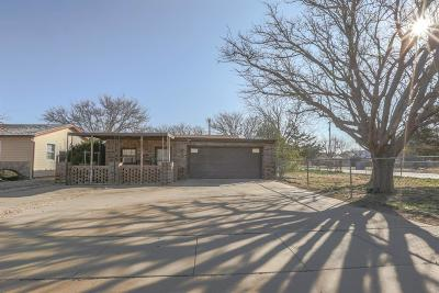Slaton Single Family Home Under Contract: 950 S 17th Street
