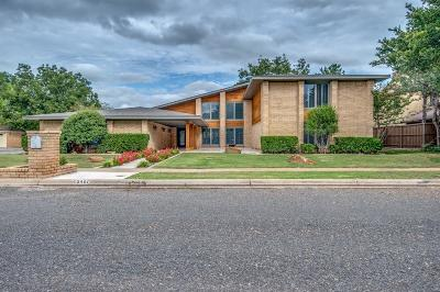 Lubbock Single Family Home For Sale: 8407 Wayne Avenue