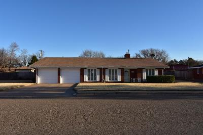 Bailey County, Lamb County Single Family Home Under Contract: 502 Crescent