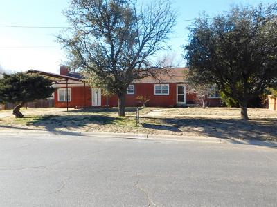 Bailey County, Lamb County Single Family Home For Sale: 219 W Ave J