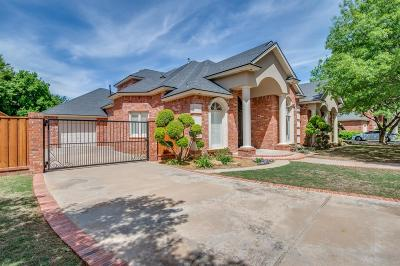 Lubbock Single Family Home For Sale: 4112 86th Street