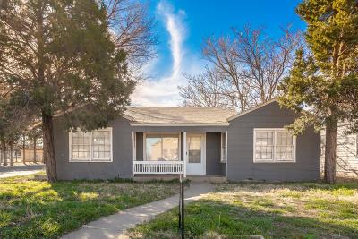 Lubbock County Single Family Home Under Contract: 2401 23rd Street