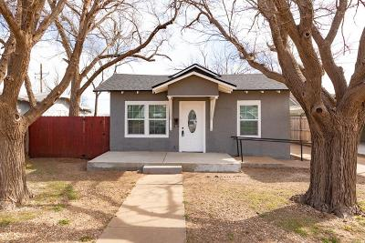 Slaton Single Family Home Under Contract: 910 S 10th Street
