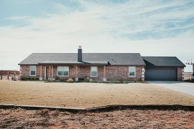 Shallowater Single Family Home For Sale: 8612 N Farm Road 179