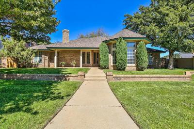 Lubbock TX Single Family Home Under Contract: $274,950