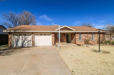 Littlefield Single Family Home Under Contract: 1203 W 13th Street