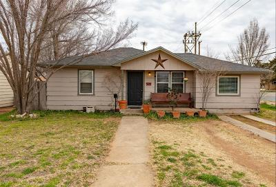 Lubbock County Single Family Home For Sale: 2821 41st Street
