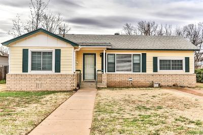 Lubbock Single Family Home For Sale: 1909 48th Street