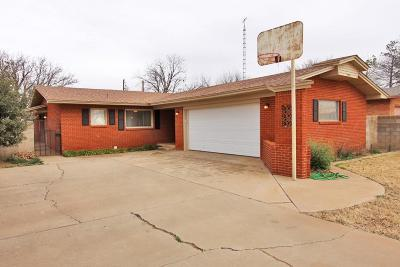 Lamesa Single Family Home Under Contract: 2224 S 7th
