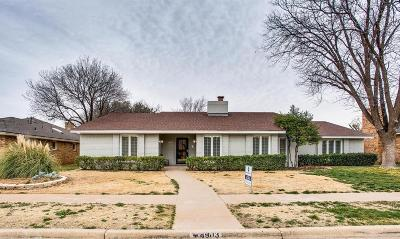 Lubbock Single Family Home For Sale: 4903 93rd Street