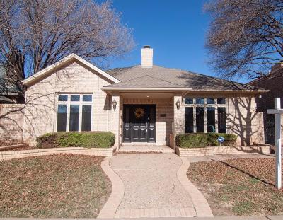 Lubbock Garden Home For Sale: 5112 2nd Street