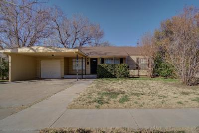 Lubbock Single Family Home For Sale: 3612 29th Street