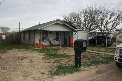 Slaton Single Family Home For Sale: 750 S 16th Street