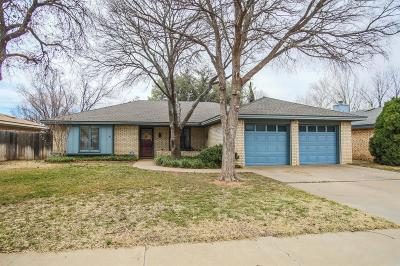 Lubbock Single Family Home Under Contract: 5210 92nd Street