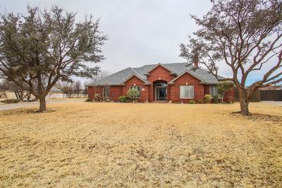 Lubbock Single Family Home For Sale: 8506 Quitman Avenue