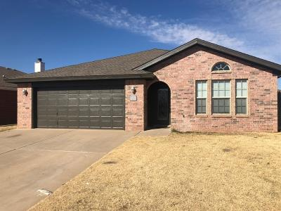 Lubbock Rental For Rent: 2914 108th Street