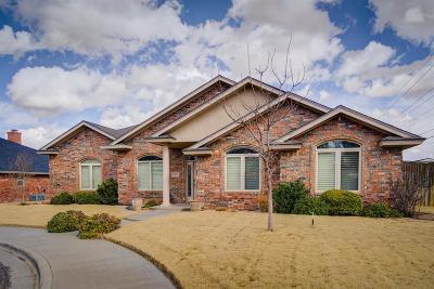 Lubbock Single Family Home For Sale: 10505 Uxbridge Avenue