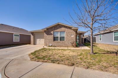 Lubbock Single Family Home Under Contract: 8904 Temple Avenue