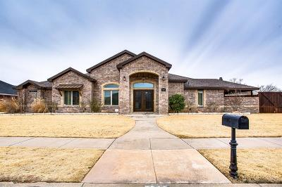 Lubbock Single Family Home For Sale: 4707 109th Street