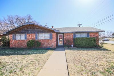 Lubbock Single Family Home Under Contract: 5439 46th Street