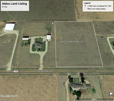Lubbock County Residential Lots & Land For Sale: 11309 N Farm Road 1729