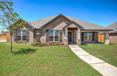 Lubbock Single Family Home For Sale: 6954 103rd