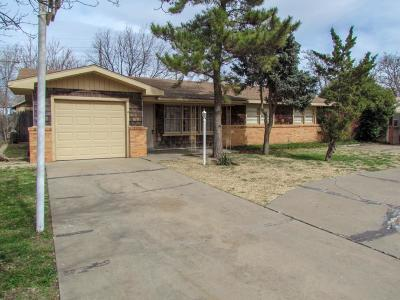 Lubbock Single Family Home For Sale: 4426 33rd Street