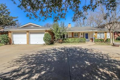 Lubbock Single Family Home For Sale: 3406 75th Street