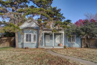 Lubbock Single Family Home For Sale: 3304 21st Street