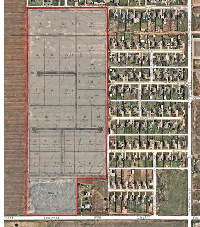 Lubbock County Residential Lots & Land For Sale: Erskine