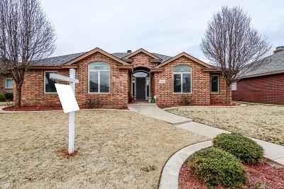Lubbock Single Family Home Under Contract: 3514 106th Street