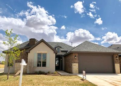 Lubbock Single Family Home For Sale: 5705 115th