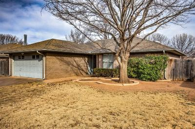 Lubbock Single Family Home Under Contract: 2208 86th Street